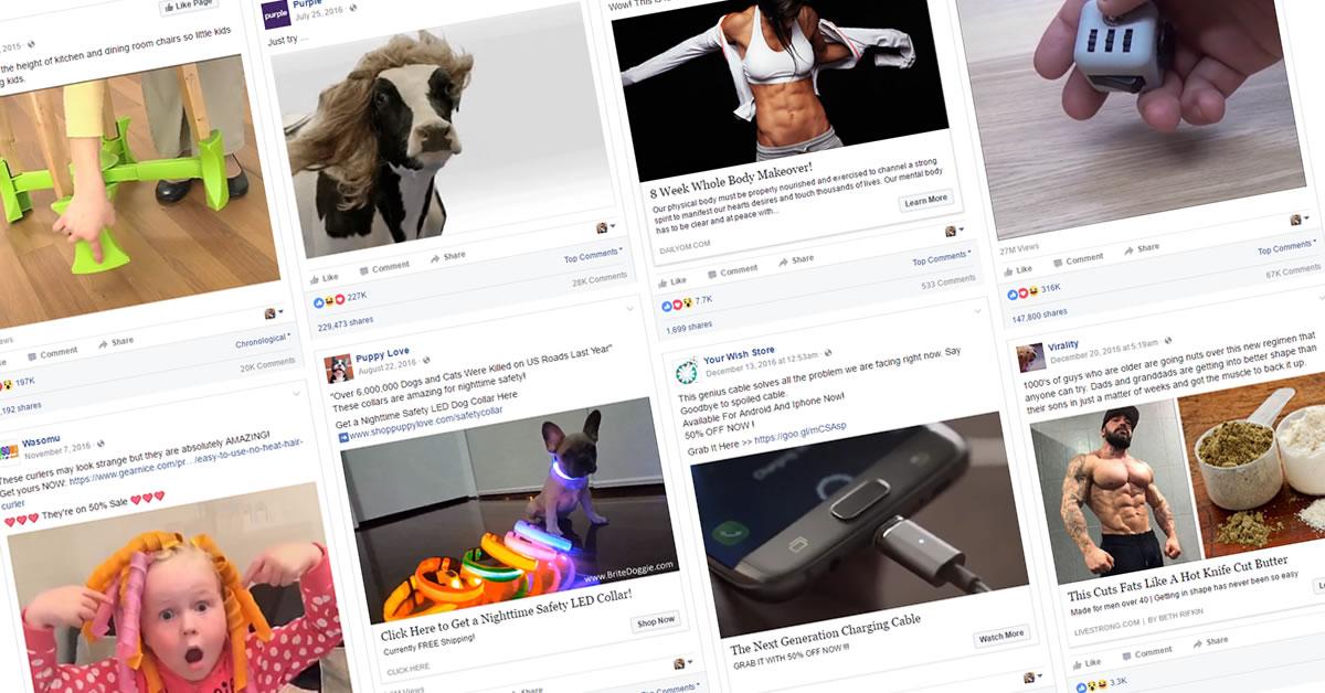 Facebook Viral Ad Swipes