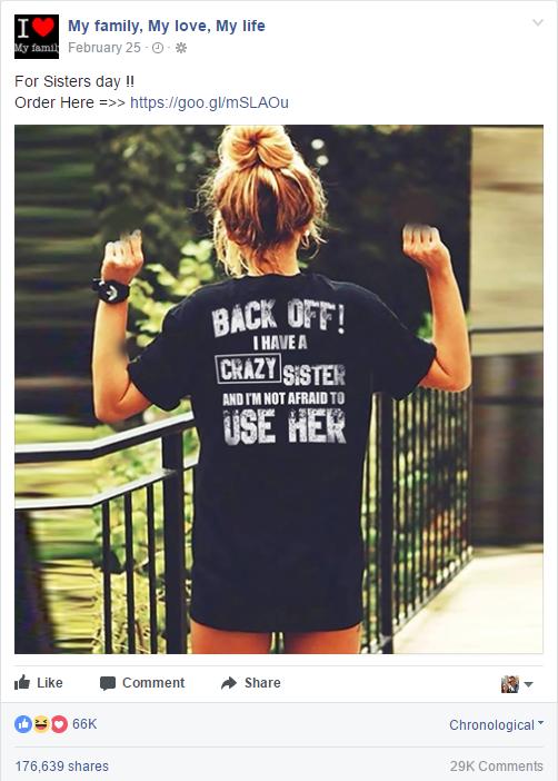 CrazySisterTshirt