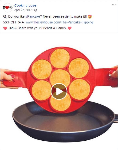 Pancake Flipper Ad